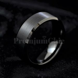 Men's Engagement Wedding BandRing Tungsten Carbide